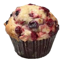 Load image into Gallery viewer, BERRY BLAST YOGURT MUFFINS BY MORRISON PASTRY 6 OZ. 12 COUNT PER UNIT