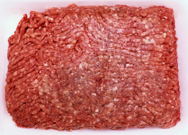 Ground Beef Bulk, USDA Inspected, 80% Lean, 2 1/2 lb. Package, FRESH