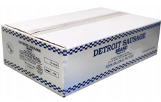 Sausage Breakfast Patties Detroit Brand Packed 120/2 oz. Patties Per Case -15 lb.