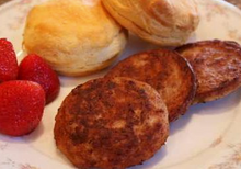 Load image into Gallery viewer, Sausage Breakfast Patties Detroit Brand Packed 120/2 oz. Patties Per Case -15 lb.