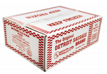 Load image into Gallery viewer, Sausage Breakfast Links Detroit Brand Packed 80/2 oz. Links Per Case - 10 lb.