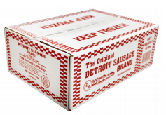 Sausage Breakfast Links Detroit Brand Packed 80/2 oz. Links Per Case - 10 lb.