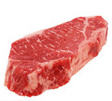 Load image into Gallery viewer, Beef Boneless New York Strip Steaks 12-14 oz. USDA Choice FRESH (Order by Piece)