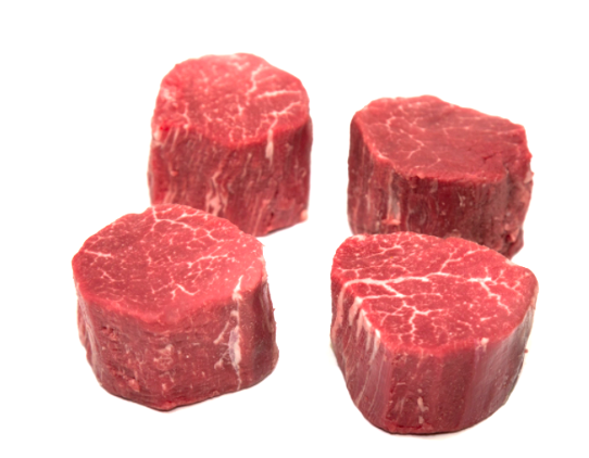 Beef Center Cut Filet 7-8 oz. USDA Choice 4-Pack FRESH (Order by Pack)
