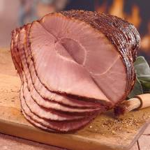 Load image into Gallery viewer, SPIRAL SLICED HONEY GLAZED HAMS HALVES 7-9 LB. AVG. DEARBORN BRAND