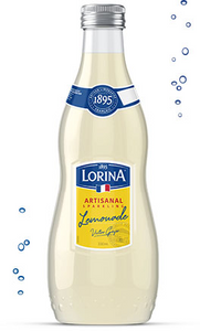 Lorina French Artisanal Sparkling Lemonade (Case of 12 bottles)