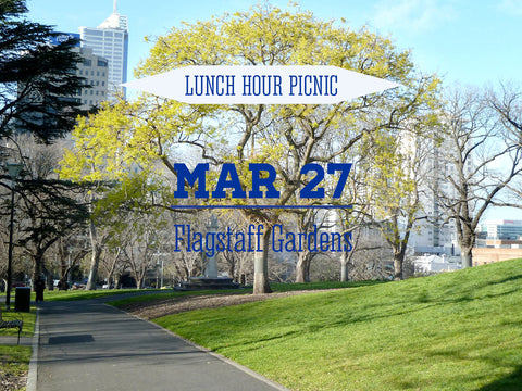 Lunch Hour Picnic for Two Flagstaff Gardens 1pm - 2pm