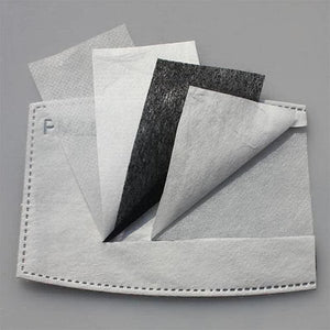 Replacement filter Inserts for My Fancy Masks - Pack of 10 ADULT SIZE