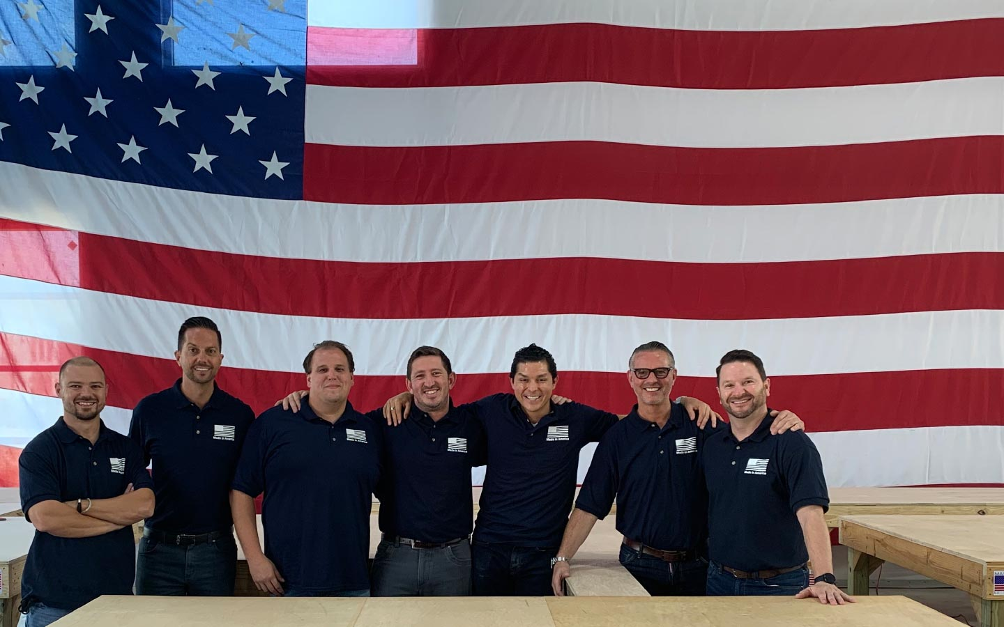 The HSUS Team at one of our plants