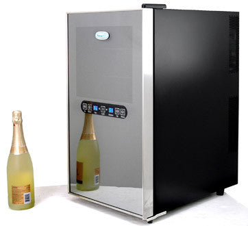 NewAir AW-182ED 18 Bottle Dual Zone Thermoelectric Wine Refrigerator