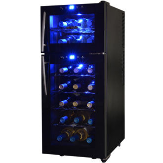 NewAir AW-210ED - 21 Bottle Thermoelectric Wine Refrigerator