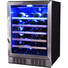 NewAir AWR-520SB 52 Bottle Wine Refrigerator
