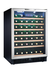 Danby DWC508BLS - 50 Bottle Built-in or Freestanding Wine Refrigerator