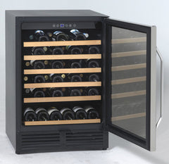 Avanti WCR506SS - 50 Bottle Built-In or Freestanding Wine Refrigerator