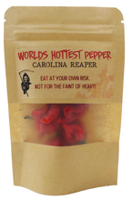 Load image into Gallery viewer, A SPECIAL - 4 Carolina Reaper Pepper (WORLDS HOTTEST PEPPER)
