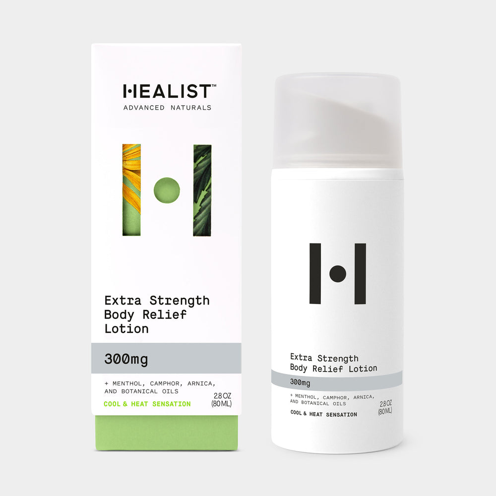 Extra Strength Body Relief Lotion