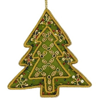 Tree Ornament - Embroidered