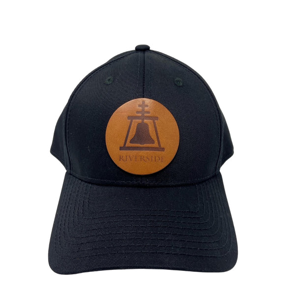 Hat with Leather Patch