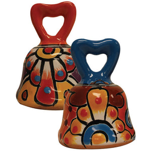 Talavera Bell with Heart Top
