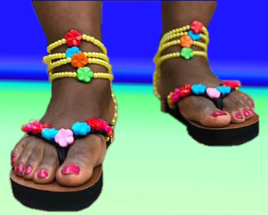 Bead Slippers