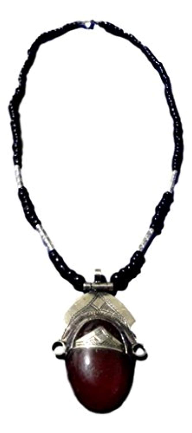 Tuareg Necklace Handcrafted African Niger Ethnic Tribal Jewelry - Ufumbuzi - Home