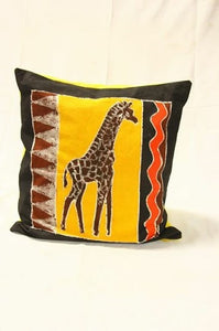 Batik Giraffe Pillow