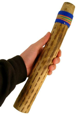"20"" Chilean Cactus Rainstick Musical Instrument with yarn wrap and sealant - Authentic Rain Stick Shaker from Africa Heartwood Project (TM) - Ufumbuzi - Home"