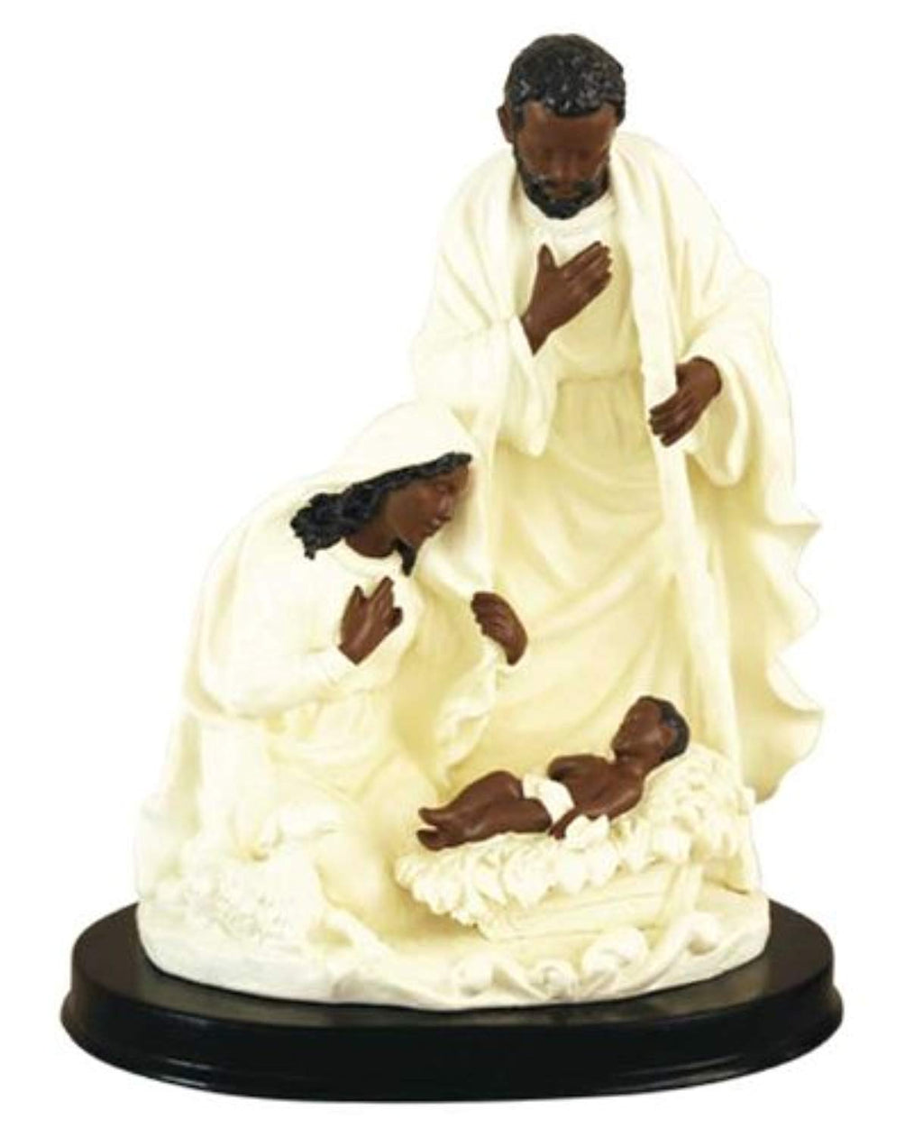 Holy Family in ivory