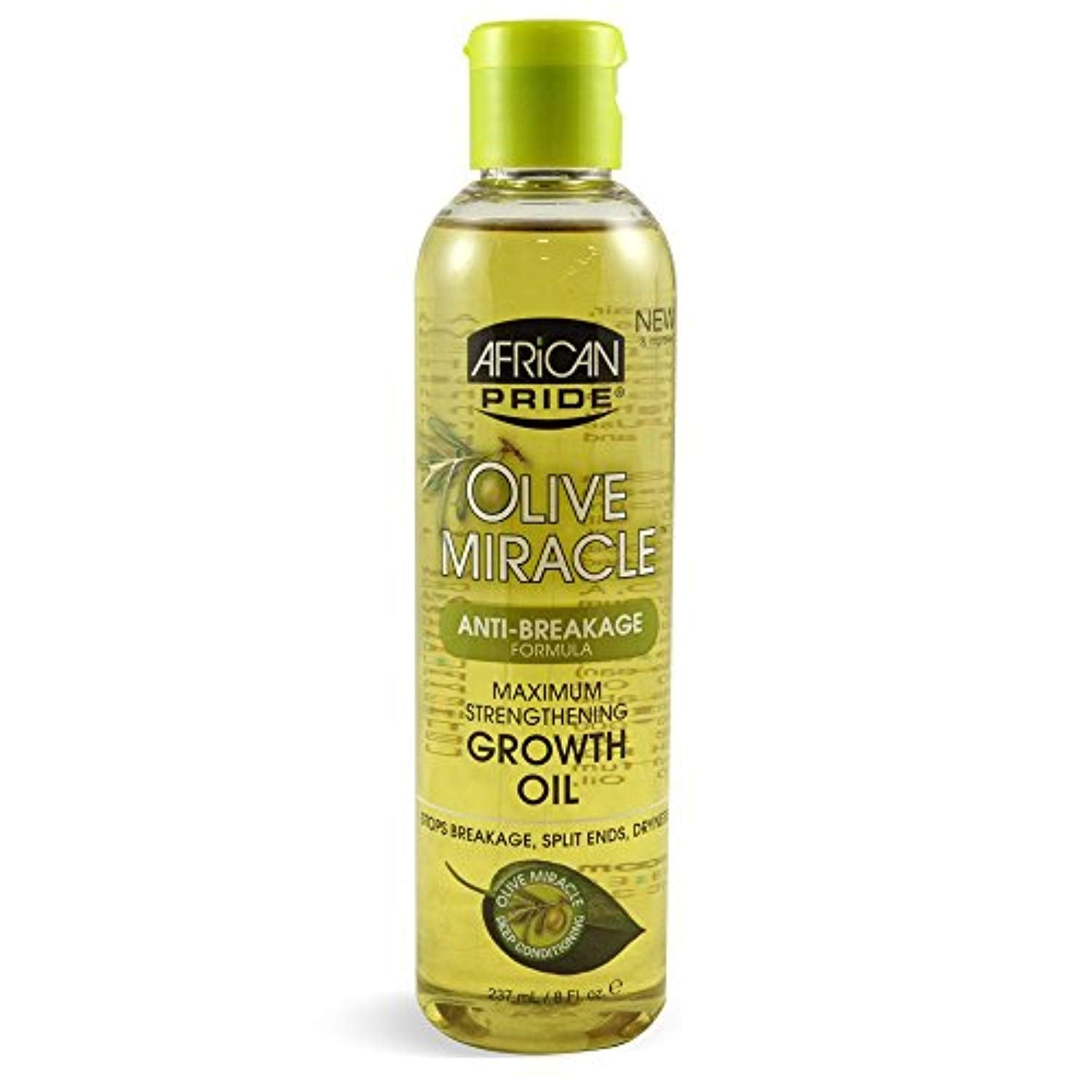 African Pride Olive Miracle Growth Oil, 8 Fluid Ounce - Ufumbuzi - Home