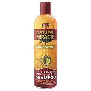 African Pride Natural Miracle Anti-reversion Shampoo, 12 Ounce - Ufumbuzi - Home