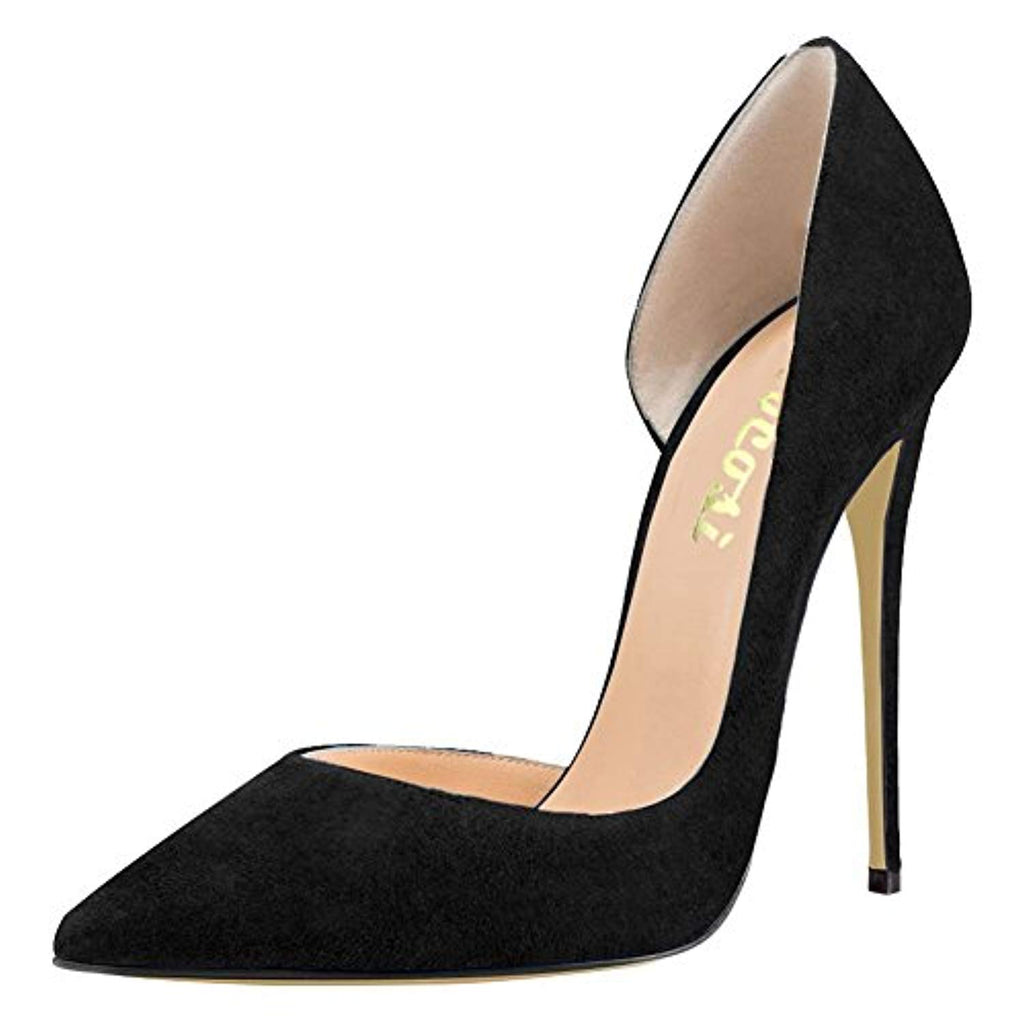 VOCOSI Women's Thin Heels Shoes Pointy Toe Ladies Party Dress Pumps