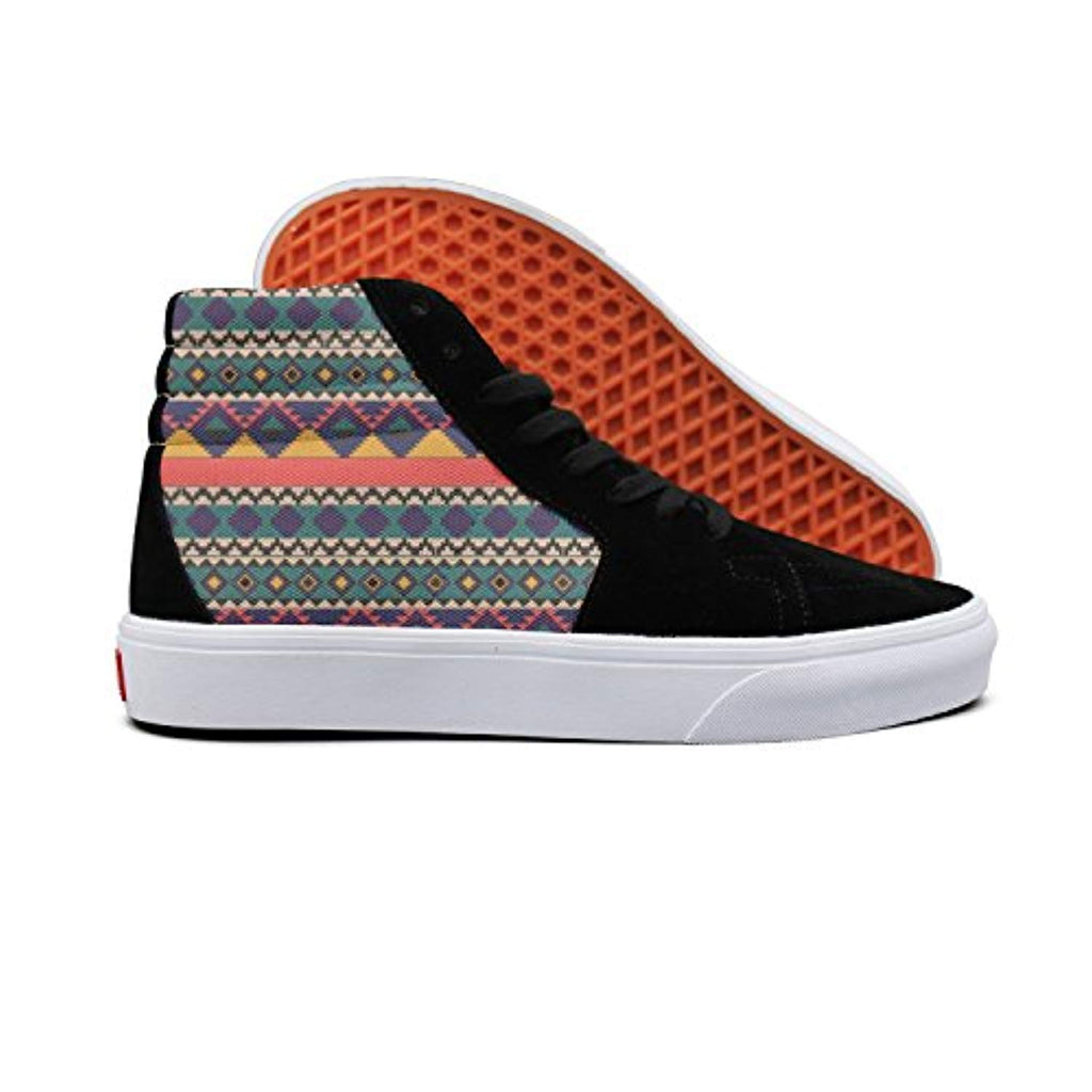 African Style Men High-Top Casual Shoes Skateboard