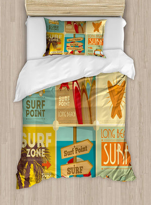 Lunarable Groovy King Size Duvet Cover Set, African Vintage Ethnic Funky Mix Trippy Traditional Cultural Ceremony Ritual Pattern, Decorative 3 Piece Bedding Set with 2 Pillow Shams, Multicolor - Ufumbuzi - Home