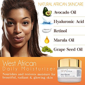 SPAfrica Natural Skincare - West African Daily Moisturizer - Ufumbuzi - Home