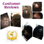 Organic Hair Growth Raw African Black Soap With Peppermint Oil Clarifying Shampoo - Ufumbuzi - Home