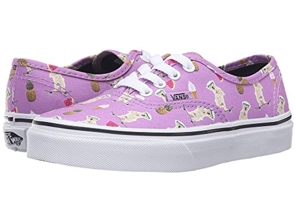 vans authentic (pool vibes) African Violet (Kids 11.5)