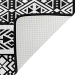 ALAZA Black African Aztec Tribal Area Rug Rugs for Living Room Bedroom 5'3 x 4'