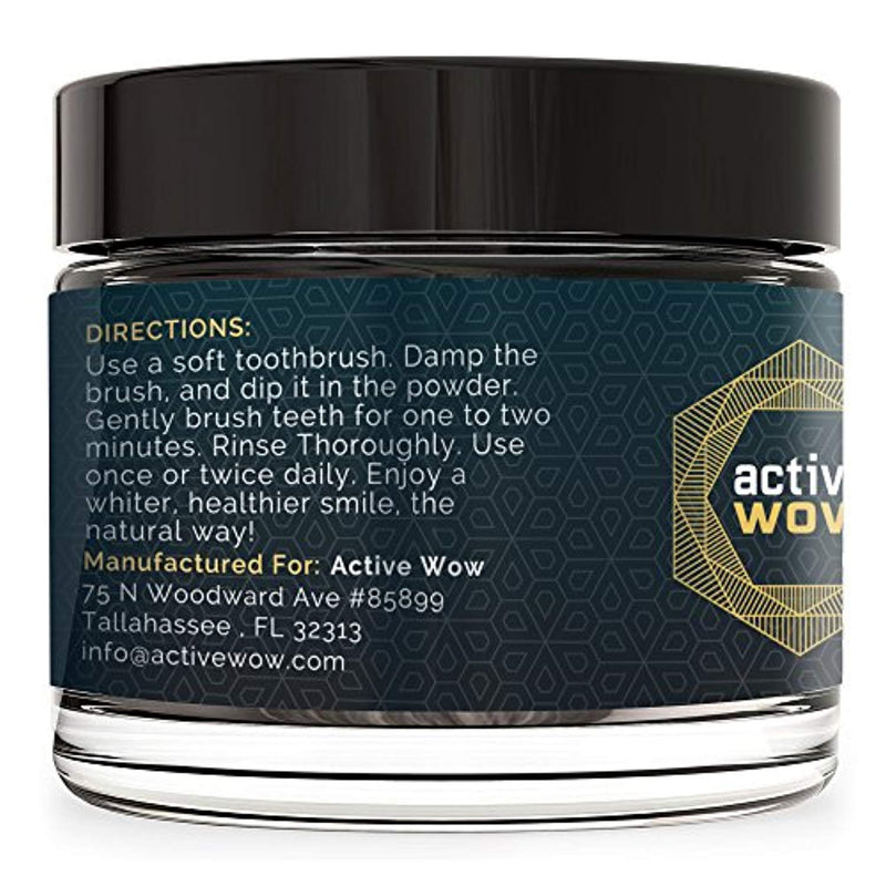 Active Wow Teeth Whitening Charcoal Powder Natural - Ufumbuzi - Home