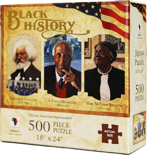 African American Expressions: Black History 500pc Jigsaw Puzzle