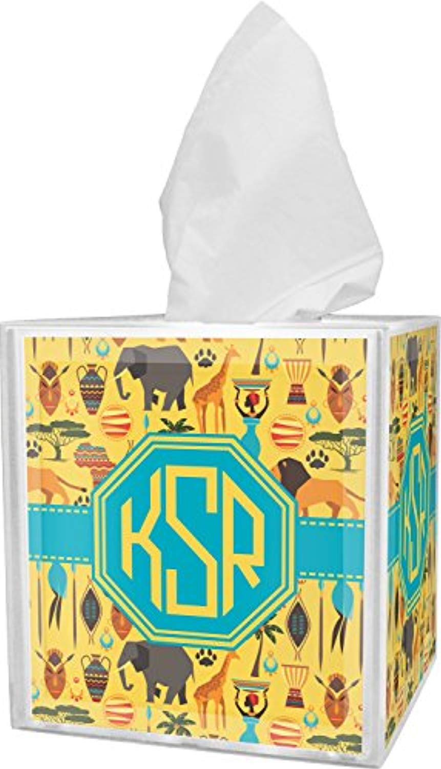 RNK Shops African Safari Tissue Box Cover (Personalized) - Ufumbuzi - Home