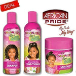 Dream African Pride Kids Olive Miracle Detangling Moisturizing Set Of 3 Products - Ufumbuzi - Home