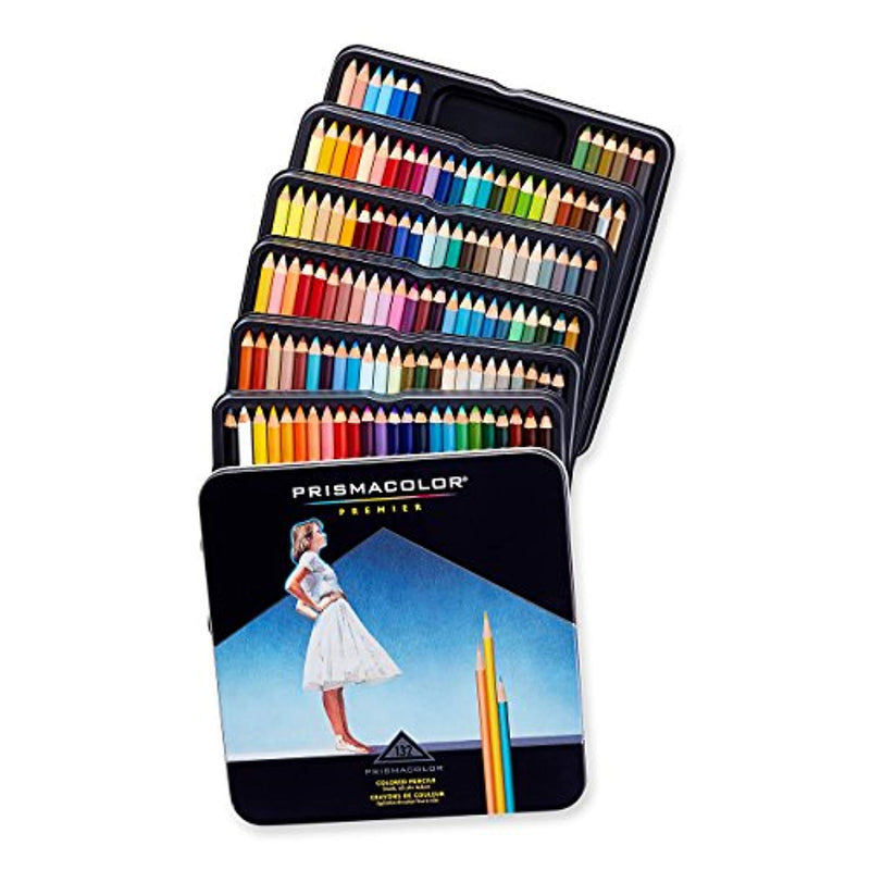 Prismacolor 4484 Premier Colored Pencils, Soft Core, 132-Count - Ufumbuzi - Home