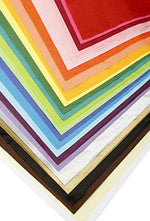 "ArtVerse 100-Piece Tissue Paper Pack – Premium Quality Tissue Paper for Gift Wrapping, Paper Crafts, Packing and More, 20""x26"" (Assorted Colors)"