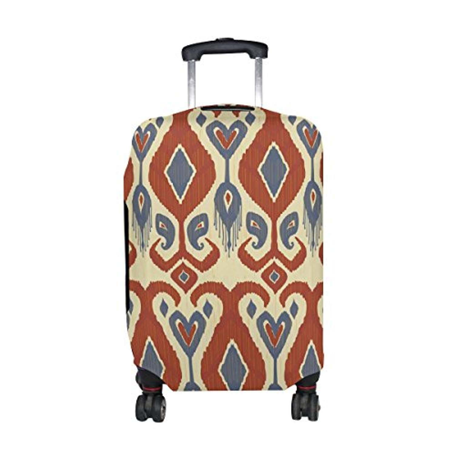 African Art Tribal Print Travel Luggage Protector Baggage Suitcase Cover Fits 18-20 Inch Luggage - Ufumbuzi - Home