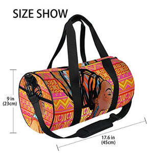 JSTEL Sports Gym Bag for Women and Men Travel Duffel Bag