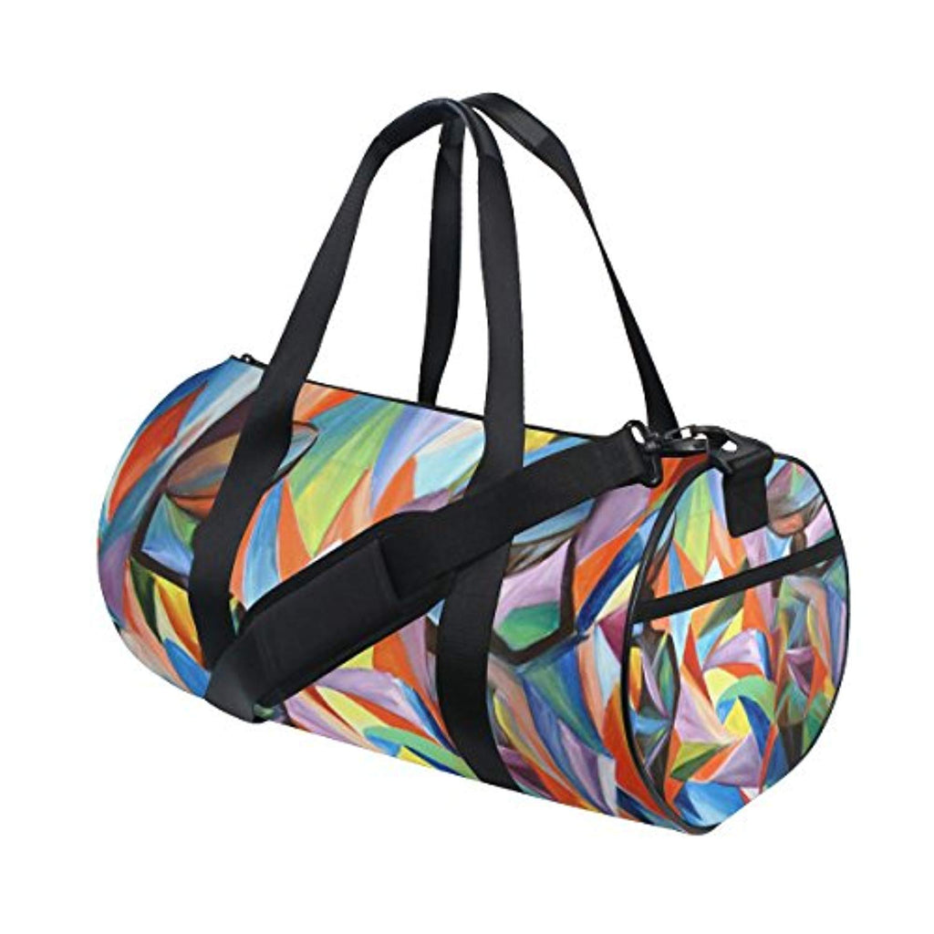 JSTEL African Women Sports Gym Bag for Women and Men Travel Duffel Bag - Ufumbuzi - Home