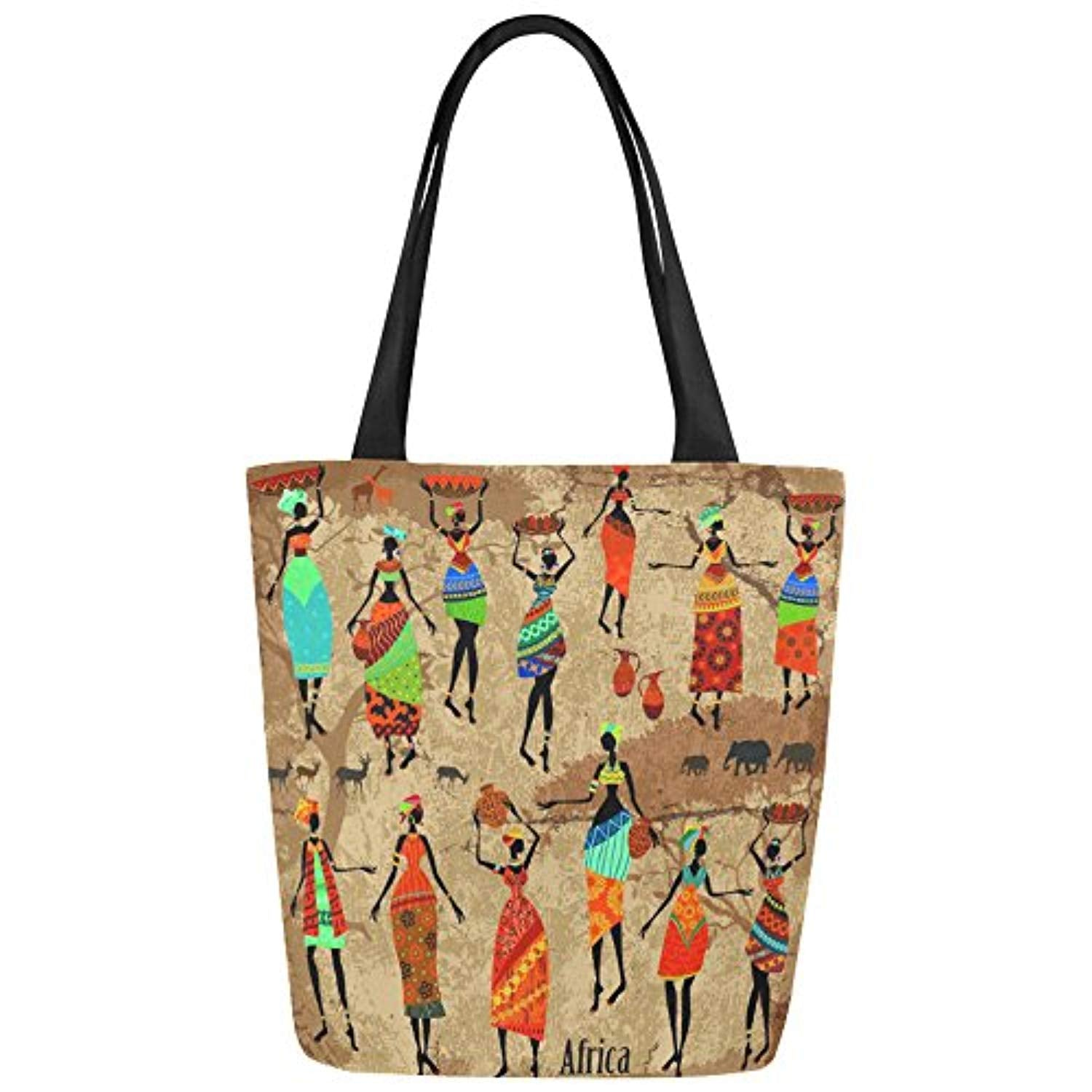 Funny Design Canvas Tote Bag Handbag Purse for Women