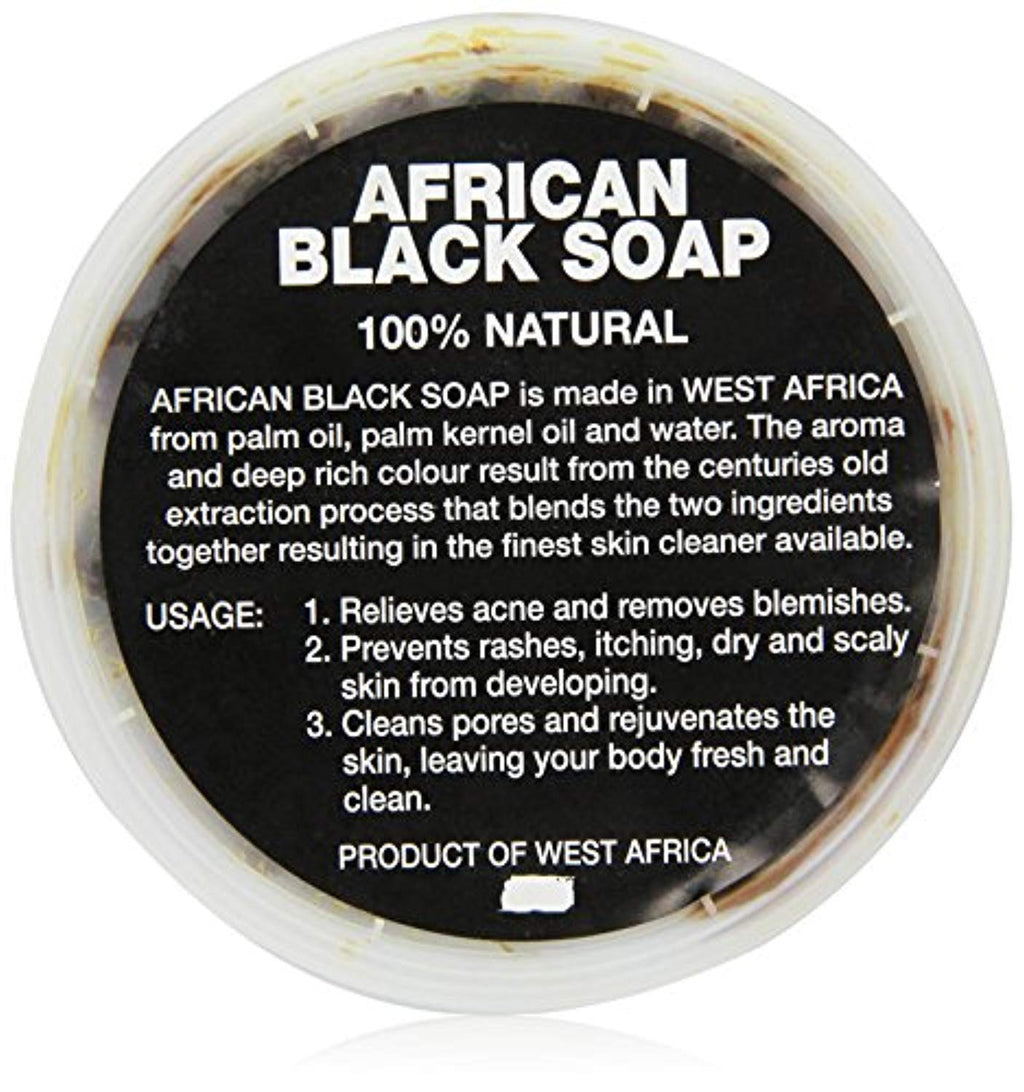 African Black Soap paste 8 oz