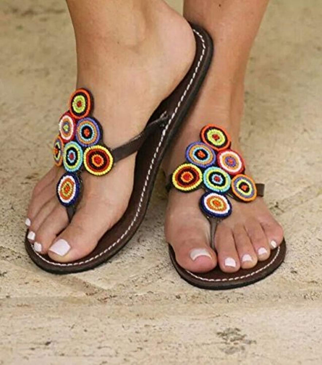 Handmade Reef sandy sandals for women | Handmade summer reef flip flops for women