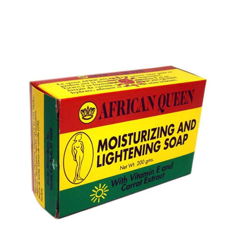 African Queen Moisturizing and Lightening Soap with Vitamin E and Carrot Extract - Ufumbuzi - Home